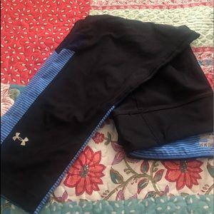 Under Armor dry fit pants crop